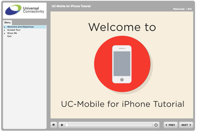 UC Mobile for iPhone Tutorial