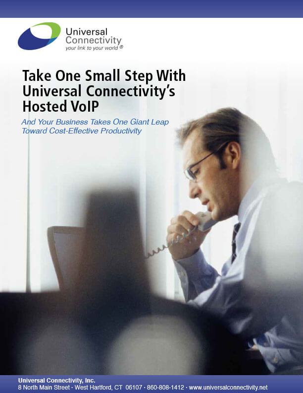 Take one small step with Universal Connectivity's VoIP