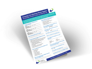 Business Phone Checklist Universal Connectivity